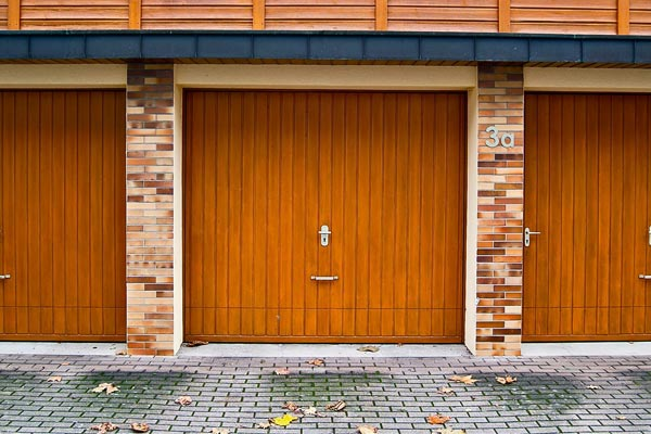 intervention sur une porte de garage
